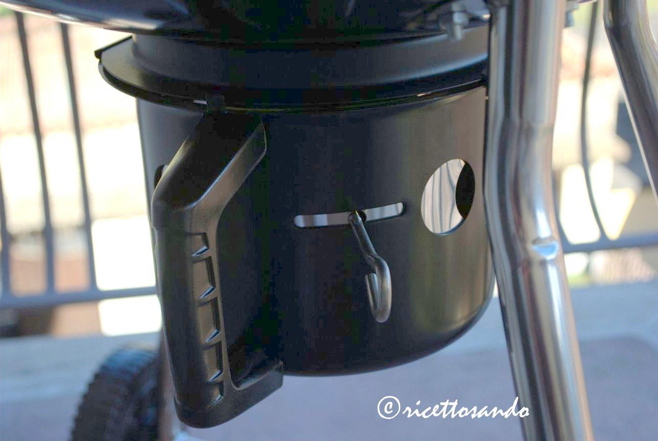 Kugelgrill Landmann raccoglitore cenere e ventilazione