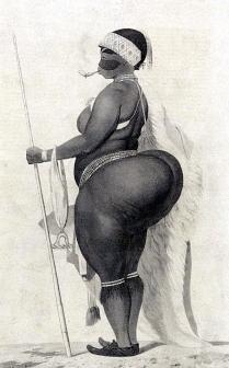 Mujeres hotentotes, los culos más grandes del mundo