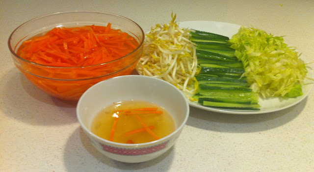 Vietnamese Spring Roll Vermicelli