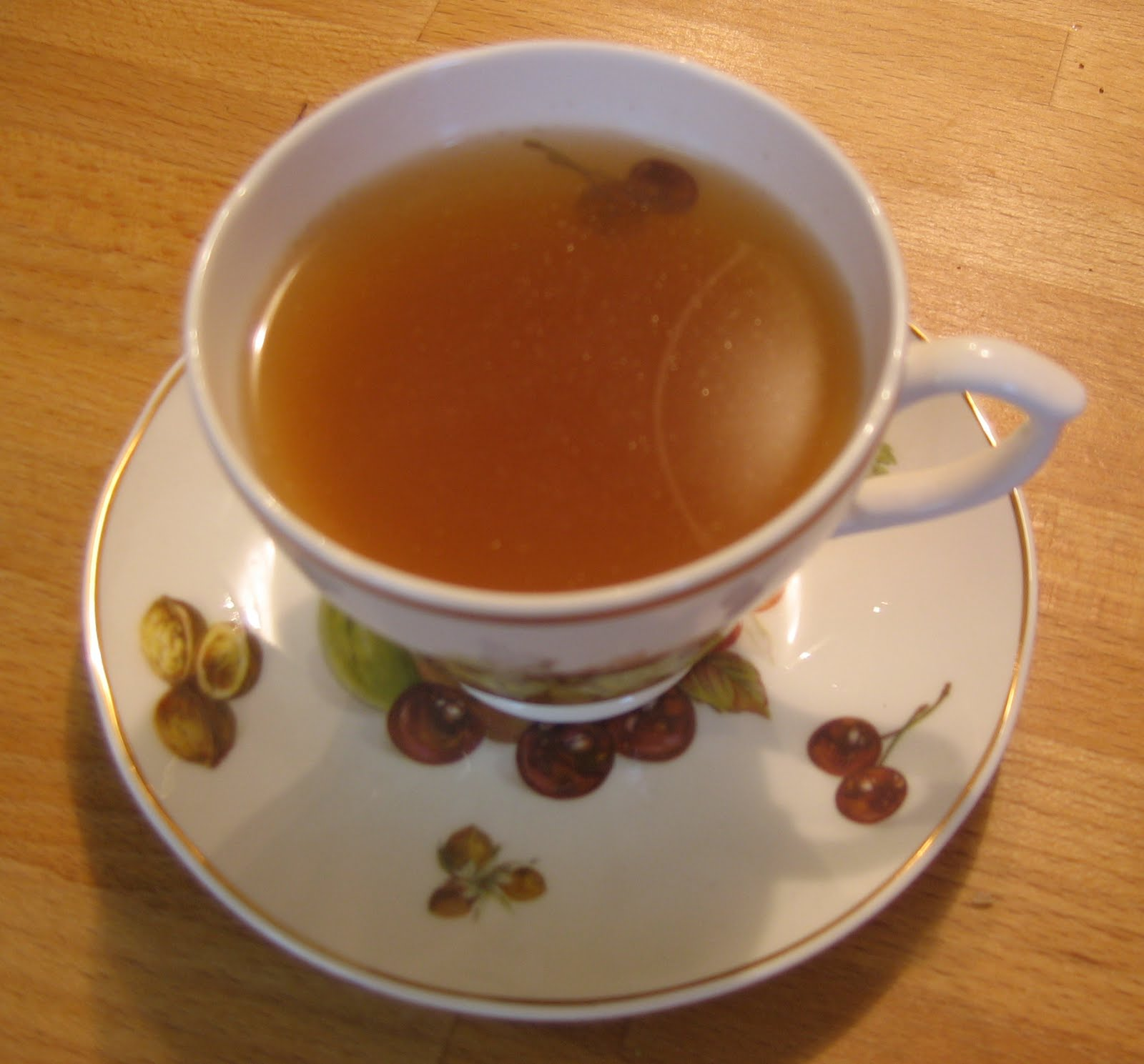 Spiced flax seed tea