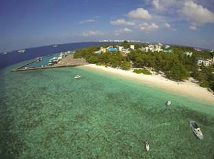 Maldives Male City Sea House Hotel Top Deck