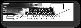 EZRA POUND │La Materia Poetica