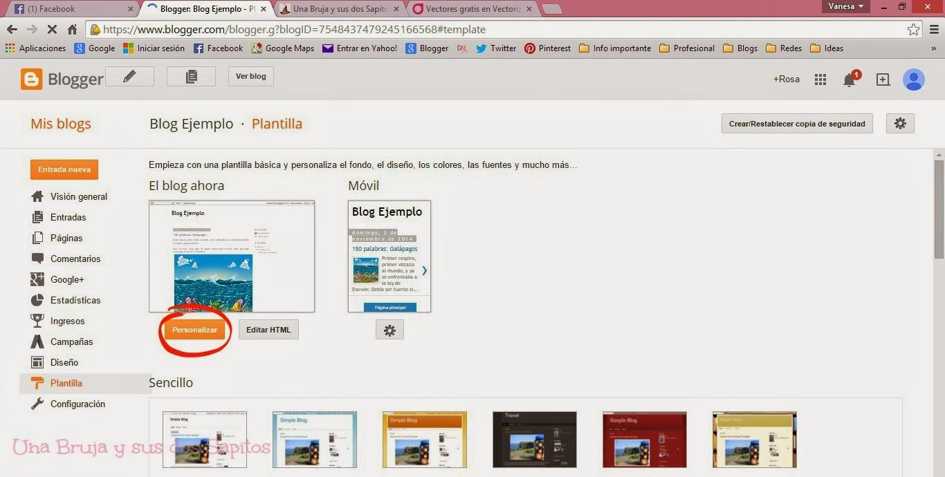 Fantástico Plantilla De Blogger Rosa Galería - Ejemplo De Colección ...