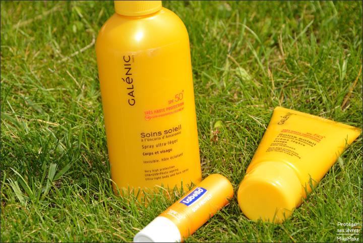 Protéger soigner et prévenir ses lèvres en été des coups de soleil