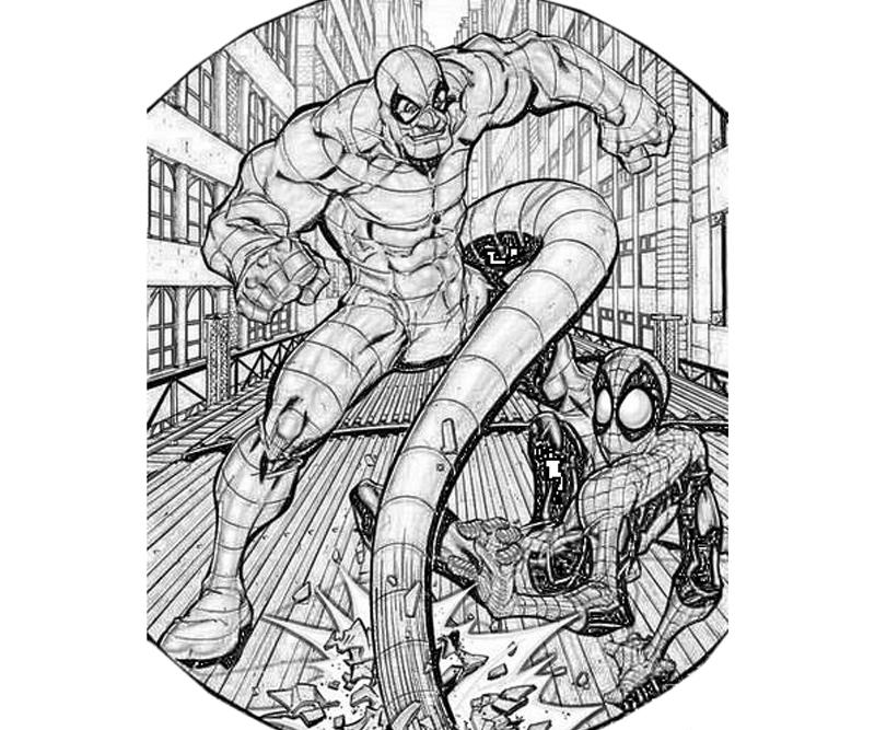 printable-the-amazing-spider-man-scorpion-sketch_coloring-pages