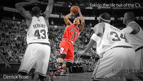chicago bulls logo wallpaper. derrick rose chicago bulls