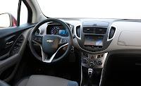 Chevrolet Trax interior detaliu bord