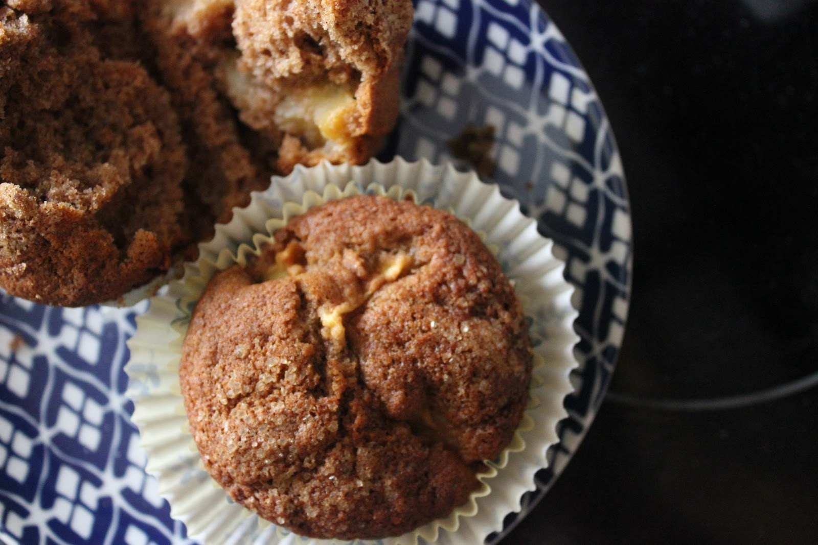 Squirrels-n-Sweets: Whole Wheat Apple Muffins & Giveaway Winner!