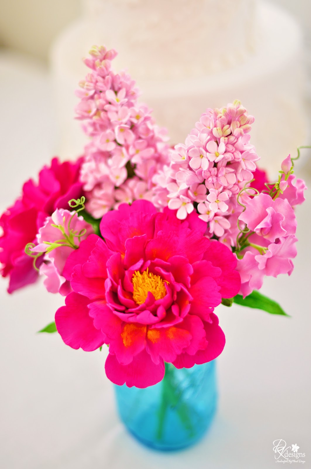 this arrangement definitely gets you ready for spring