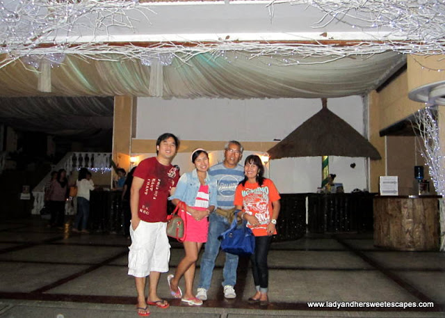 family in Leyte Park Hotel in Leyte Tour