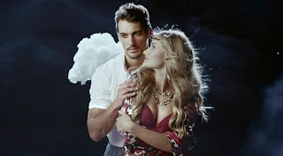 David Gandy - Rosie Huntington-Whiteley M&S Christmas Tv Ad is fairy tale and fantasy movie scenes  themed