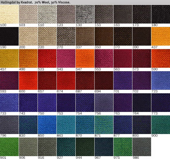 Mid2mod In Search Of The Perfect Fabric Kvadrat