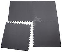 Mata puzzle pod sprzęt fitness 124x124 cm
