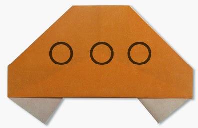 Hướng dẫn cách gấp Đĩa Bay bằng giấy đơn giản - Xếp hình Origami với Video clip