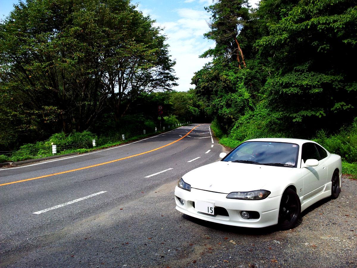 touge, nielegalne wyścigi, kręte, górskie drogi, japońskie, JDM, modded, Nissan Silvia S15, 峠, 走り屋, チューニングカー, ワインディングロード