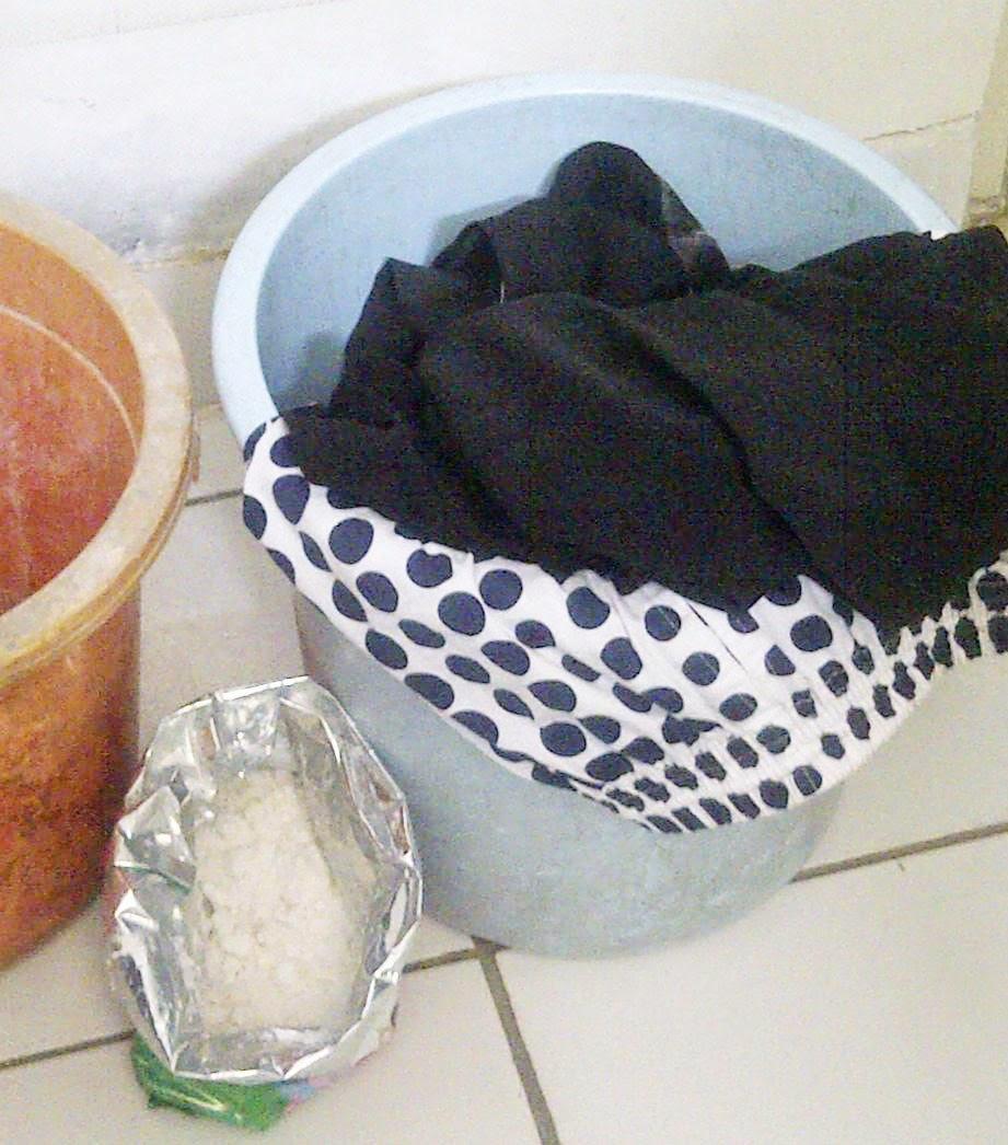 cara mencuci baju bahan linen