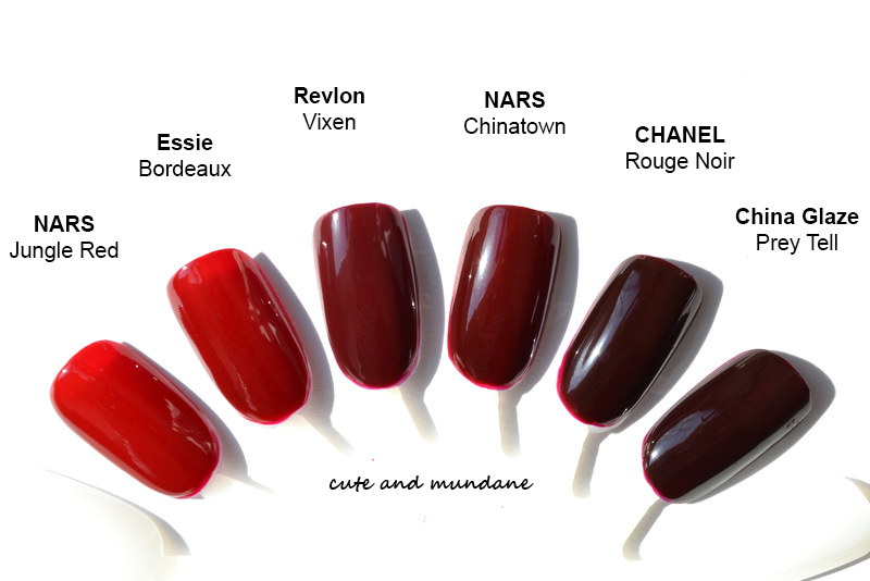 Cute and Mundane: CHANEL Vernis in Rouge Noir review + swatches