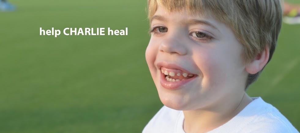 Help Charlie Heal
