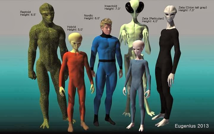 These alien types are on our planet not what it seems like