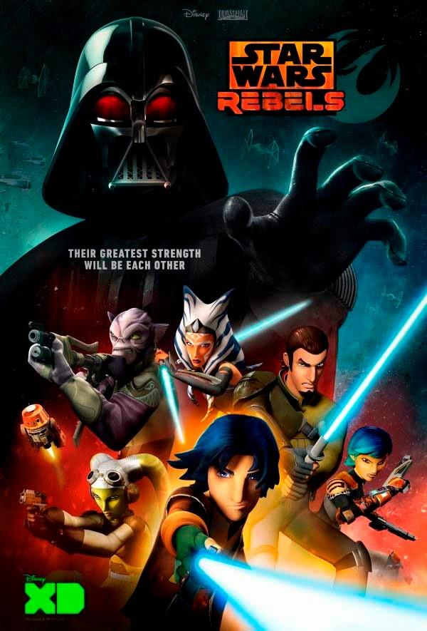 Poster promocional de la temporada 2 de Star Wars Rebels