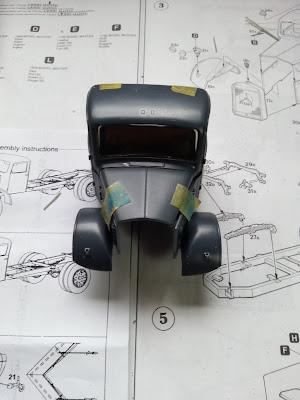 Mercedes L3000 with snow plow: Part 1. 20130411_151226