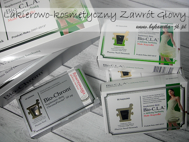 Suplementy Pharma Nord Chrom i Bio-C.L.A. z zieloną herbatą