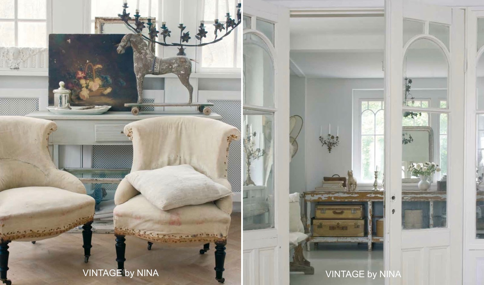 Best Shabby Chic Interiors Soggiorno Ideas - Design Trends 2017 ...