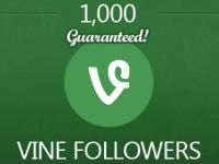 1000 Vine Followers