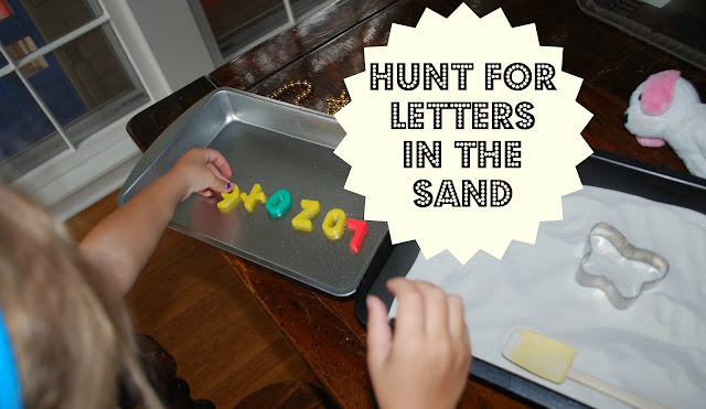 easy crafts for kids with learning letters