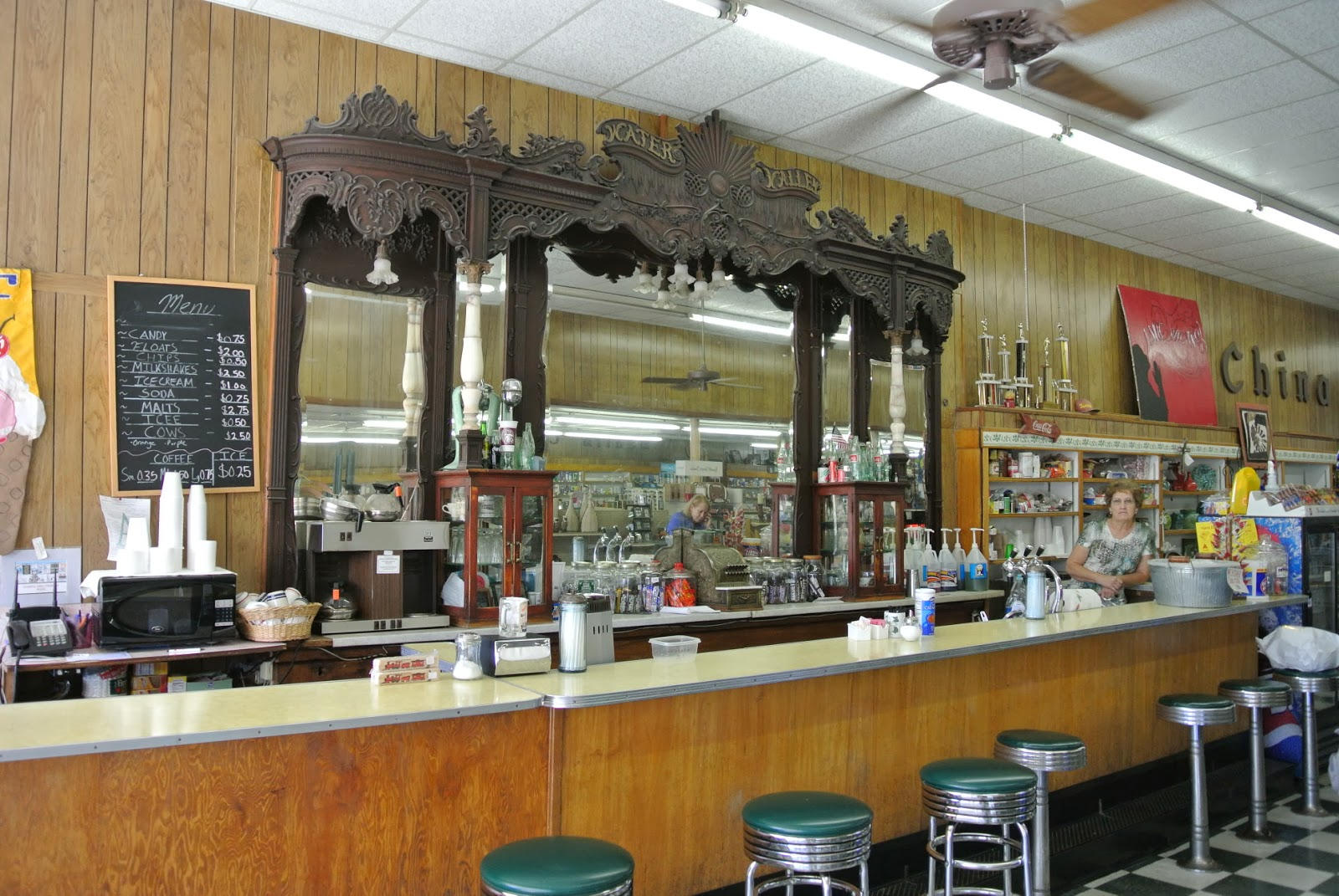 Mississippi tallahatchie county tippo - Turnage Drugs Lunch Counter Soda Fountain