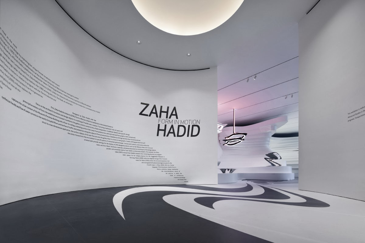 Paisley curtain zaha hadid for Office design zaha hadid