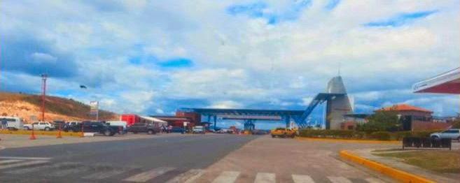 Fronteira com a Venezuela, na região de Santa Elena de Uairén.