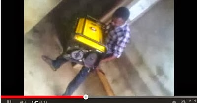 Boy Lifts `Generator And Full Bag Of Cement' With His Teeth (LOOK)