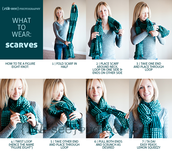 diy how to tie wear a scarf tiny sparkly things