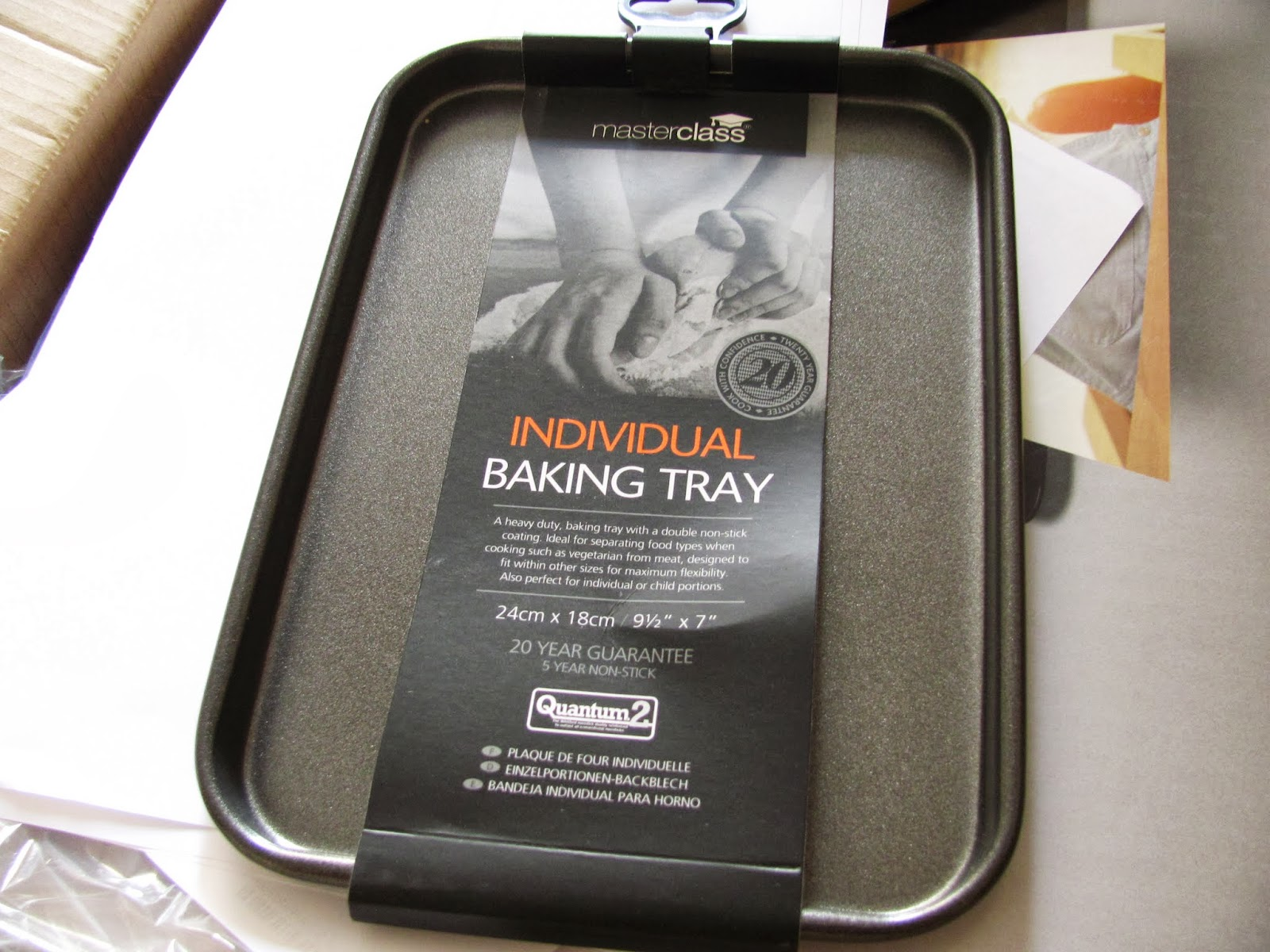 A small baking tray from Amazon
