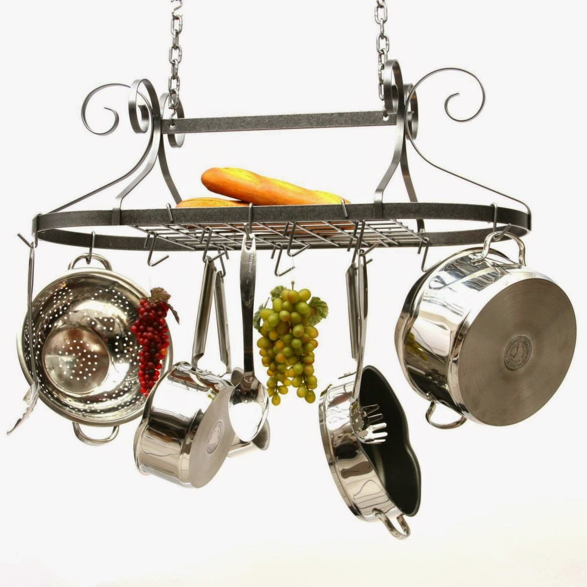 matal pot and pan rack design
