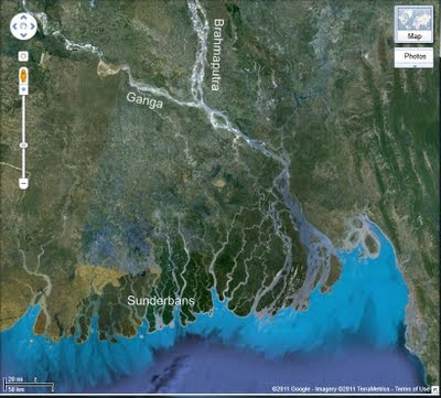 Rapid Uplift: The Ganges Delta And The Hungry Tide