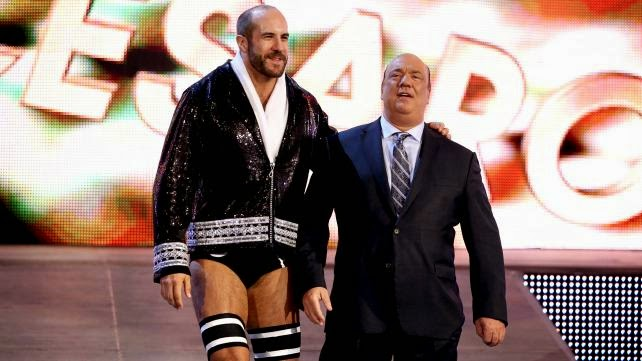 Cesaro Paul Heyman WWE WrestleMania 30 XXX new theme King of Swing