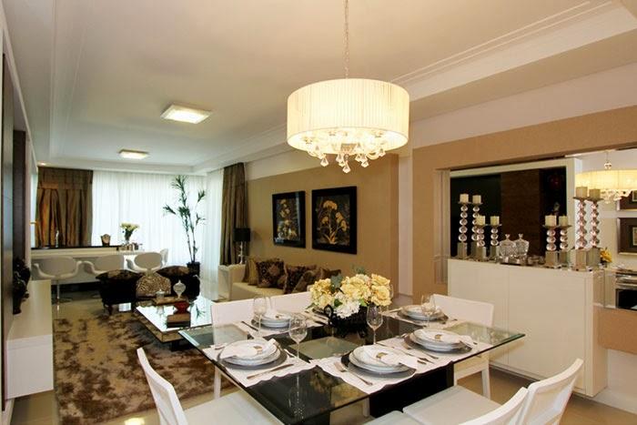 Sala De Estar Branca E Bege ~ sala branca e begeseria o living integrado! Salas de jantar e estar