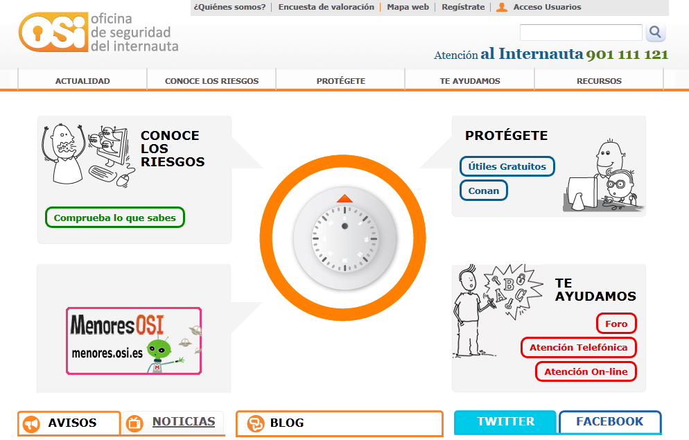 Seguridad inform tica a lo jabal blog de for Oficina seguridad internauta