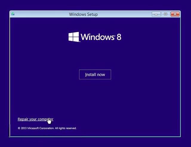 Cara Memperbaiki Windows 8.1 yang Gagal Booting tanpa harus install ulang