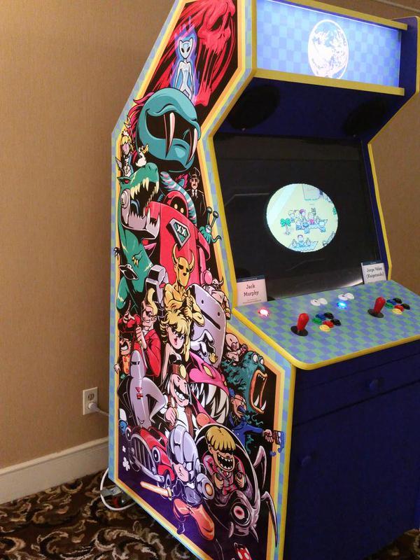 Earthbound Reshuffler Arcade Cabinet Side Art Kaigetsudo