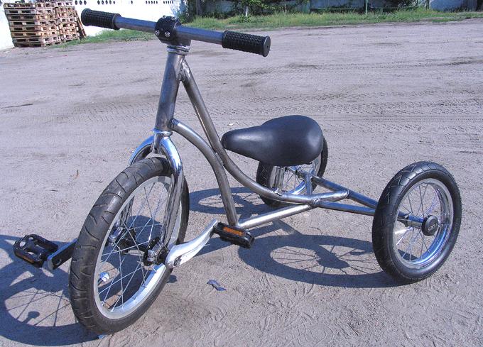Как сделать колесо с педалями 660