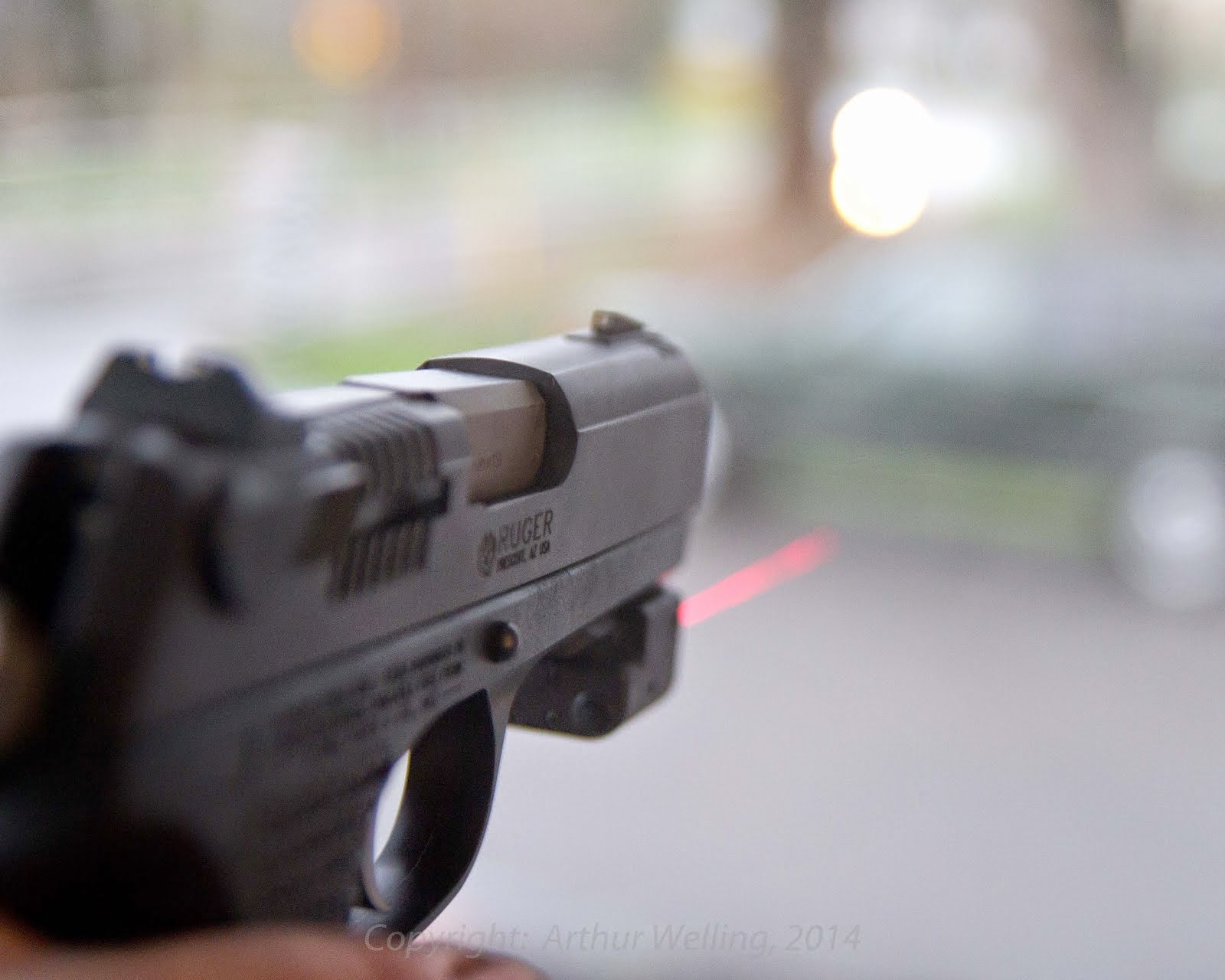 Review:  LaserLyte V4 rail laser