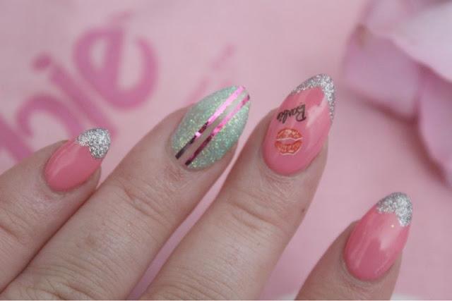 Trashy Barbie Nails