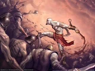 227 god war ii kratos 2 wallpaper 1600x1200 customity Best Game Wallpapers Ever