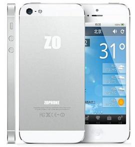 Zophone i5 clones of iPhone 5