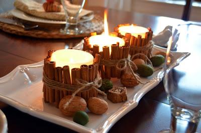 vela decorada, velas na decoração, decoração de vela, canela vela