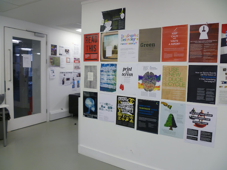 Posters on display 2011
