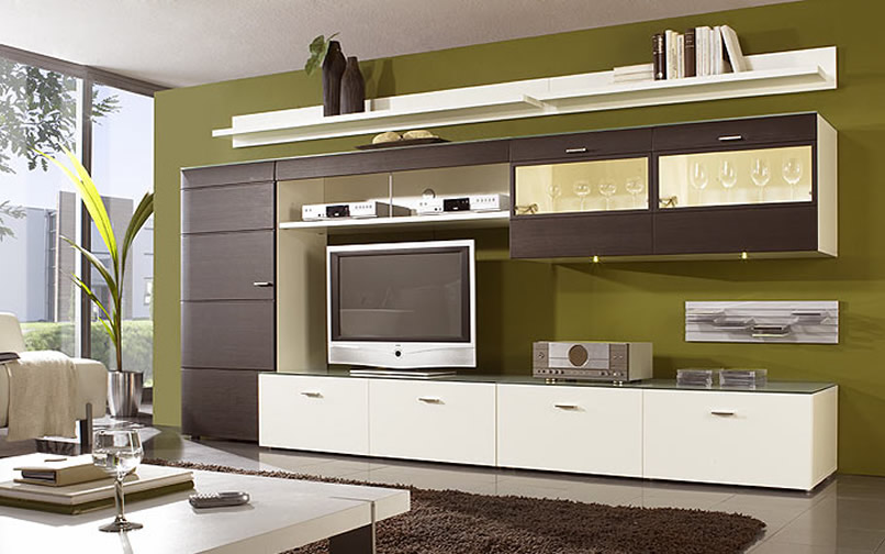 LCD TV cabinet designs ideas.  An Interior Design